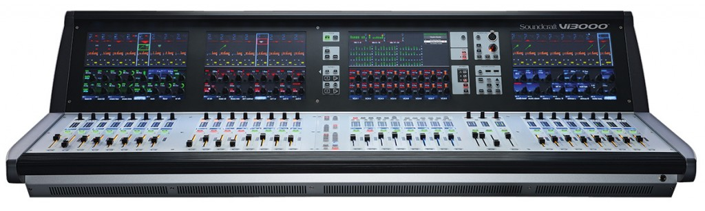 The Soundcraft Vi3000 Digital Live Sound Console