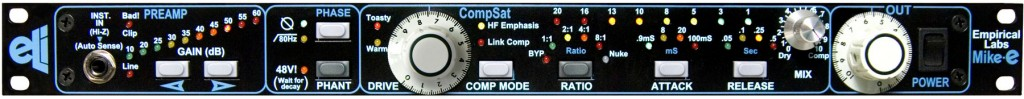 Empirical Labs EL9 Mike-E Microphone Preamplifier mic preamp pre face front panel EL 9
