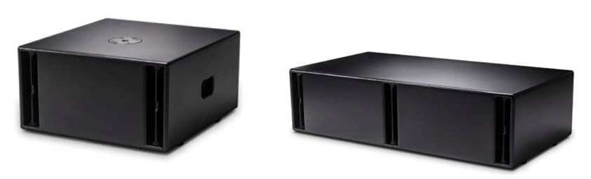 NEXO ID Series Subs - Left: ID S110, Right: ID S210