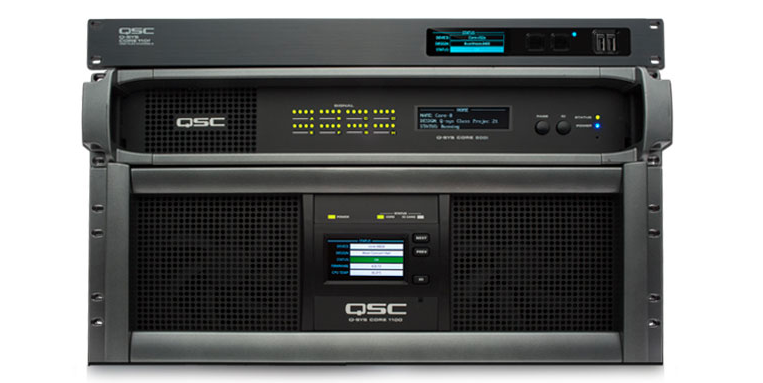 QSC Q-SYS Core products