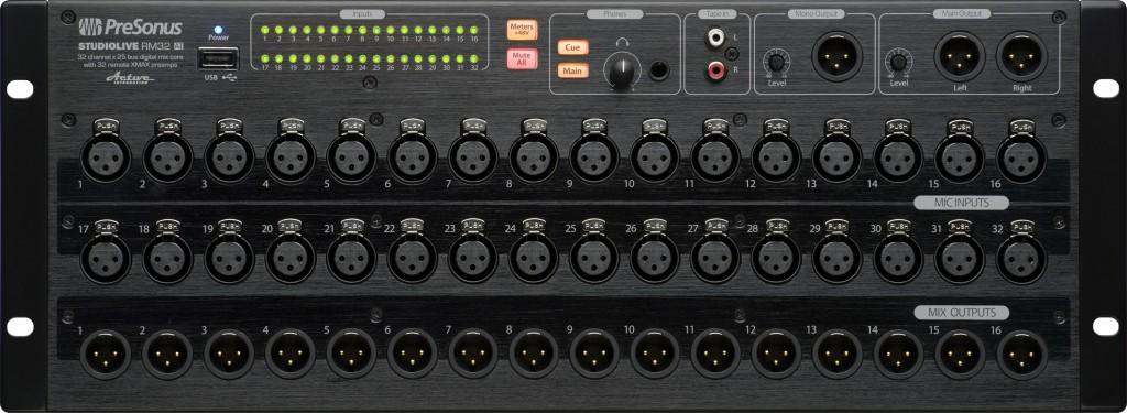 PreSonus SoundLive RM32AI Digital Mixer