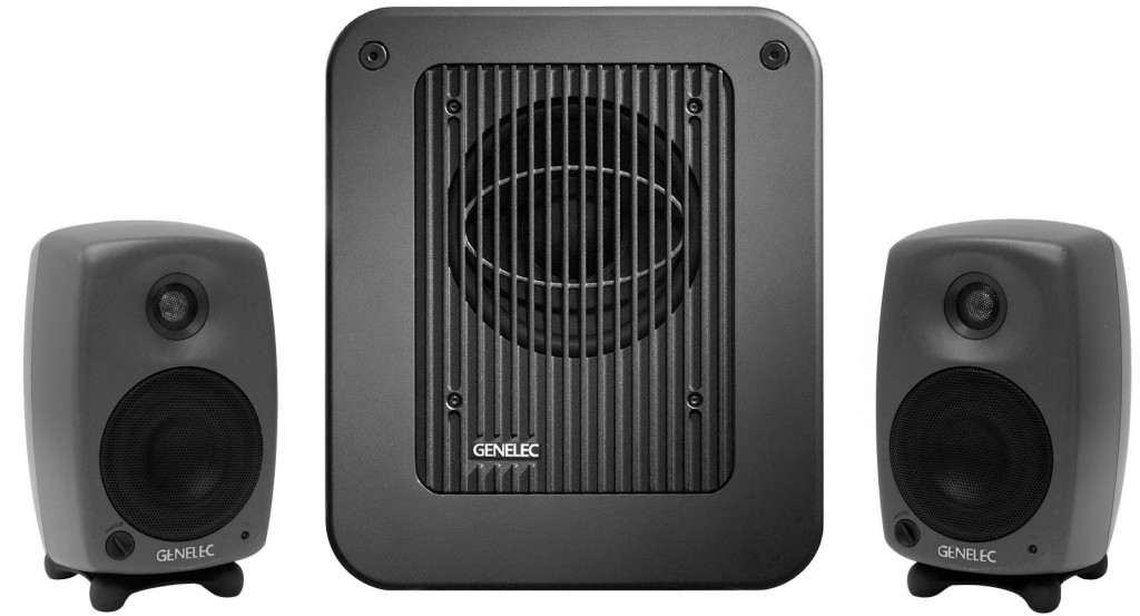 Genelec 8020.LSE StereoPak 8020 LSE Stereo Pak Pack StereoPack active system package speaker monitor subwoofer sub