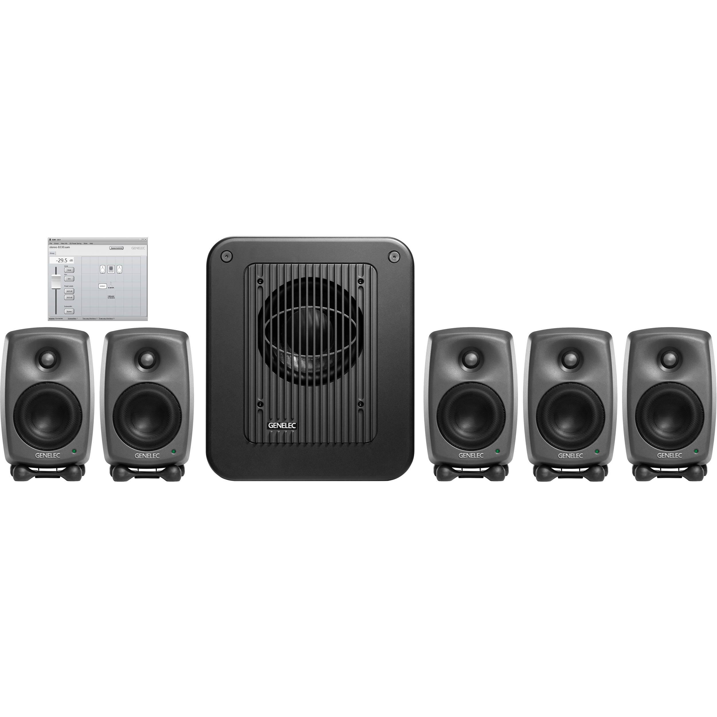 Genelec 8330.LSE Surround SAM 8330 LSE 8330A smart active monitoring monitors speakers loudspeakers