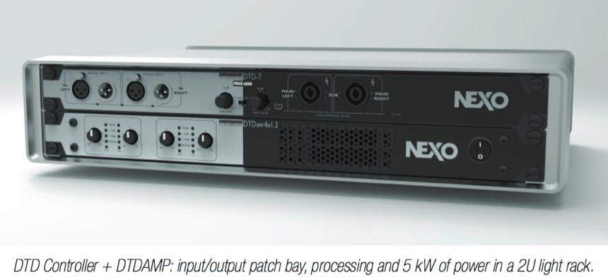 NEXO DTD Controller + DTDAMP