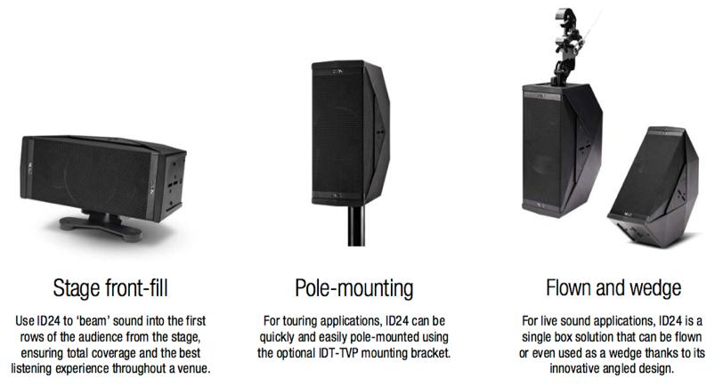 NEXO ID24 Speaker Configurations